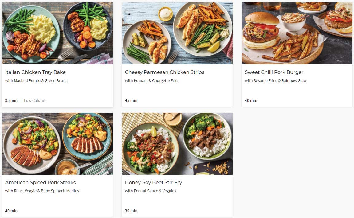 hellofresh recipes nz family plan